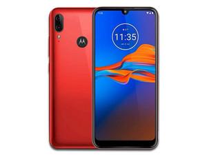 "Smartphone Motorola Moto E6 Plus: Mediatek Helio P22 (2.0 GHz) Memoria RAM de 2GB, Almacenamiento de 32GB, Pantalla LED Multi Touch de 6.1\"" HD+, Bluetooth 4.2, Wi-Fi, Dual SIM, Android 9 Pie. Color Rojo."