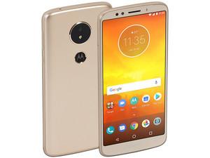 """Smartphone Motorola Moto E5: Procesador Quad Core (1.4 GHz), Memoria RAM de 2GB, Almacenamiento de 16GB (expandible con micro SD), Pantalla de 5.7\"""" (1440x720), Bluetooth, Wi-Fi, 4G, NFC, Android 8.0."""