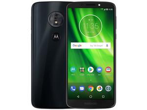 "Smartphone Motorola Moto G6 Play: Procesador Snapdragon 430 Octa Core (1.4 GHz), Memoria RAM de 3GB, Almacenamiento de 16GB (expandible con microSD), Pantalla 5.7\""(1444 X 720) Full HD+, Bluetooth 4.0, Wi-Fi, 4G, Nano SIM, Android 8.0."