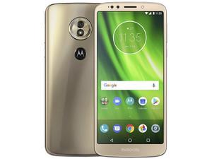 "Smartphone Motorola Moto G6 Play: Procesador Snapdragon 430 Octa Core (1.4 GHz), Memoria RAM de 3GB, Almacenamiento de 32GB, Pantalla 5.7\""(1440x720), Bluetooth 4.2, Wi-Fi, 4G LTE, Android 8.1 Oreo."
