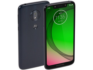 "Smartphone Motorola Moto G7 Play: Procesador Snapdragon 632 (1.8 GHz), Memoria RAM de 2GB, Almacenamiento de 32GB (expandible con microSD), Pantalla 5.7\""(1515 x 720) HD+, Bluetooth 4.2, Wi-Fi, 4G, Nano SIM, Android 9 Pie, Color Azul."