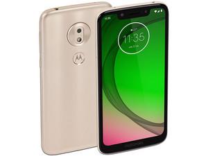 "Smartphone Motorola Moto G7 Play: Procesador Snapdragon 632 (1.8 GHz), Memoria RAM de 2GB, Almacenamiento de 32GB (expandible con microSD), Pantalla 5.7\""(1515 x 720) HD+, Bluetooth 4.2, Wi-Fi, 4G, Nano SIM, Android 9 Pie, Color Dorado."