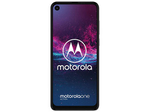 "Smartphone Motorola One Action: Procesador: Octa-Core (hasta 2.2 GHz), Memoria RAM de 4GB, Almacenamiento de 128GB (expandible microSD hasta 512GB), Pantalla Full HD+ de 6.3\"", Wi-Fi, Bluetooth 5.0, 4G, Android One, Color Gris."