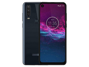 "Smartphone Motorola One Action: Procesador Octa core (hasta 2.20 GHz), Memoria RAM de 4GB, Almacenamiento de 128GB, Pantalla LED Multi touch de 6.34\"" FHD+, Red Bluetooth, Wi-Fi, 4G, Cámara principal de 12 MP Android 9."