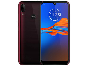 "Smartphone Motorola Moto E6 Plus: Octa-Core Helio P22 (2.0 GHz) Memoria RAM de 4GB, Almacenamiento de 64GB, Pantalla LED Multi Touch de 6.1\"" HD+, Bluetooth 4.2, Wi-Fi, Dual SIM, Android 9 Pie. Color Rojo."