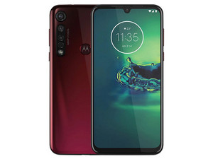 "Smartphone Motorola Moto G8 Plus: Procesador Snapdragon 665 (2.0 GHz), Memoria RAM de 4GB, Almacenamiento de 64GB, Pantalla LED Multi Touch de 6.3\"" HD+, Bluetooth 5.0, Wi-Fi, 4G, Cámara principal de 48 MP, Android 9.0."