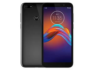 "Smartphone Motorola Moto E6 Play: Procesador Mediatek MT6739 (hasta 1.5 GHz), Memoria RAM de 2GB, Almacenamiento de 32GB , Pantalla LED Multi Touch de 5.5\"" HD+, Wi-Fi, Bluetooth, 4G, Android 9.0 Pie, Color Negro."