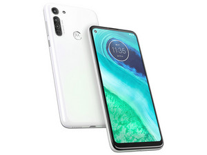 "Smartphone Motorola Moto G8 : Procesador Snapdragon 665 (2.0 GHz), Memoria RAM de 4GB, Almacenamiento de 64GB, Pantalla LED Multi Touch de 6.4\"" HD+, Bluetooth 5.0, Wi-Fi, 4G, Cámara principal de 16 MP, Android 9.0."
