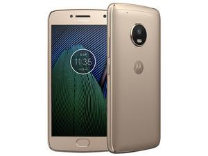 "Smartphone Motorola Moto G5 Plus: Procesador Octa Core (hasta 2.0 GHz), Memoria RAM de 2GB, Almacenamiento de 32GB, Pantalla LED Multi Touch de 5.2\"" FHD, Bluetooth, Wi-Fi, 4G, Android 7.0, Color Dorado."