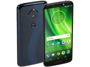 """Smartphone Motorola Moto G6 Play: Procesador Snapdragon 430 Octa Core (1.4 GHz), Memoria RAM de 3GB, Almacenamiento de 32GB, Pantalla 5.7\""""(1440x720), Bluetooth 4.2, Wi-Fi, Android 8.1 Oreo. Color Negro."""