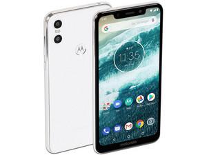 "Smartphone Motorola Moto One: Procesador Snapdragon 625 Octa Core (2.0 GHz), Memoria RAM de 4GB, Almacenamiento de 64GB (expandible con micro SD), Pantalla de 5.9\"" HD+, Bluetooth 4.2, WiFi, 4G, Android One."