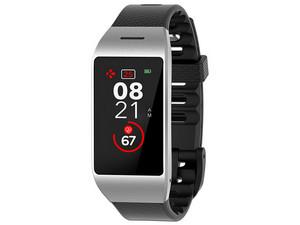Smartwatch MyKronoz ZeNeo compatible con iOS y Android, Bluetooth 4.0. Color Negro/Plateado.