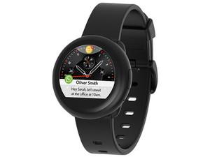"""SmartWatch MyKronoz ZeRound3 Lite de 1.22\"""" TFT, Bluetooth, compatible con iOS y Android. Color Negro."""