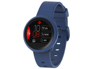 "SmartWatch MyKronoz ZeRound3, Pantalla AMOLED 1.2"", compatible con iOS y Android, Bluetooth. Color Azul."
