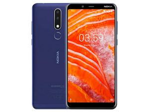 "Smartphone Nokia 3.1 Plus: Procesador MediaTek Helio P22 (2.0GHz), Memoria RAM de 3 GB, Pantalla LED Multi Touch de 6\"" HD+, Almacenamiento de 32 GB Bluetooth 4.1, Wi-Fi, 4G, Android 9. Color Azul."