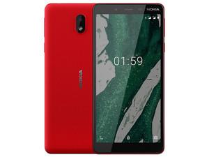 "Smartphone Nokia 1 Plus TA-1123: Procesador MediaTek MT6739WWW (1.5 GHz), Memoria RAM de 1GB, Almacenamiento de 16GB Cámaras: 5MP/8MP, Pantalla de 5.45\"", Red Bluetooth, Wi-Fi 802.11 a/b/g/n/ac, Android 9 Pie. Color Rojo."