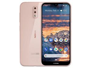 "Smartphone Nokia 4.2: Procesador Qualcomm Snapdragon 439 Octa Core (hasta 2.0GHz), Memoria RAM de 3 GB, Pantalla LED Multi Touch de 5.71\"" HD+, Almacenamiento de 32 GB Bluetooth 4.2, Wi-Fi, 4G, Android 9. Color Rosa."