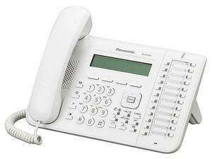 Teléfono Alámbrico Panasonic KX-DT543, Digital, 24 Teclas Programables, Color Blanco.