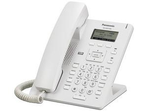 "Teléfono IP SIP Panasonic KX-HDV100 con Pantalla LCD 2.3\"", Ethernet. Color Blanco."