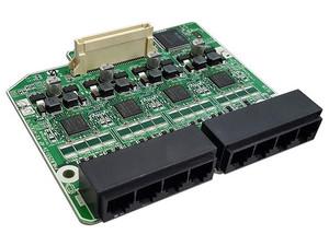 Tarjeta de extensión Panasonic KXHT82470X, 8 puertos análogos.