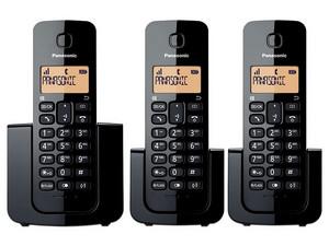 Teléfono Inalámbrico Panasonic KX-TGB113MEB, Tecnología DECT.