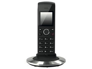 Telefono Inalámbrico DENWA DW-X430, Tecnología DECT, 50 Números, Color Negro.