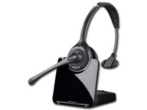 Teléfono con diadema inalámbrica Plantronics CS530 y base HL10 para descolgar.