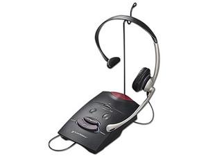 Teléfono con diadema y amplificador Plantronics THS S11.