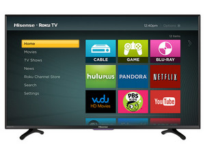 Televisión LED Hisense Smart TV de 40