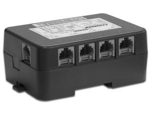 Distribuidor de Piso para Video Portero Commax CMD404CFU Conexión de hasta 4 Videoteléfonos Fine View.