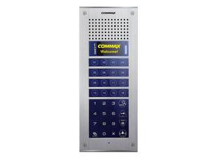 Videoportero COMMAX CMP4BCT Frente de Calle para Apartamentos con Cámara de hasta 316 Monitores, 16 Botones de Marcado Directo.