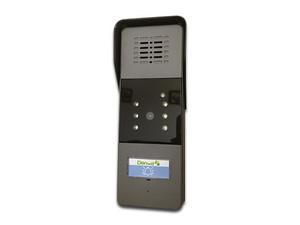 Video portero Smart IP DENWA, resolución de video 320 x 240, apertura de puerta remoto, 20 cps, 6 leds infrarrojos, bocina y micrófono incluidos, a prueba de agua IP55