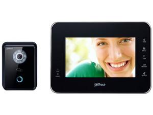 Videoportero Dahua KITVTH1560B6210B con frente de calle IP, 1MP, IP65.
