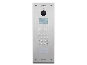 Videoportero IP Dahua VTO1210C-X Frente de Calle para Apartamentos con Cámara de 1.3MP, Soporta hasta 1000 Monitores, Apertura con Tarjeta o desde Cualquier Monitor Interior.