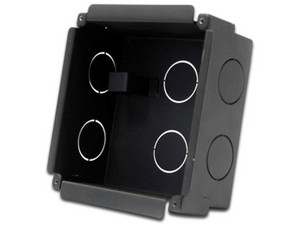 Caja metálica Dahua VTOB107 para instalación de videoportero compatible con el modelo VTO2000A.