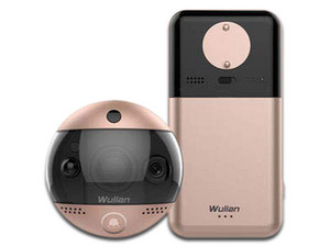 Videoportero Wulian Smart Door Guardian, 720p, Comunicación inalámbrica ZigBee (Smart Home), Wi-Fi.