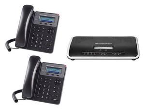 Kit de telefono IP Grandstream GS-DEMO-KIT hasta 50 cuentas SIP, 2 teclas de línea, conferencia de 3 vías, Soporta PoE.