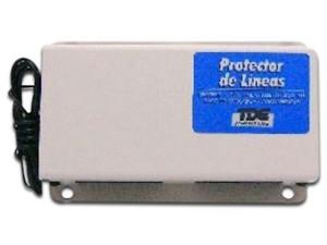 Protector TDE de 3 lineas Telefónicas. Color blanco.