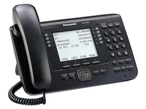 "Teléfono IP estándar Panasonic KX-NT560X con Pantalla LCD 4.4\"", Ethernet."