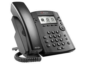 Teléfono IP Polycom VVX 311 soporta hasta 6 lineas, Pantalla, Ethernet.