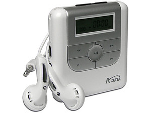 Reproductor de MP3 A-DATA de 128MB, Incluye Memoria SD de 1GB, USB 2.0
