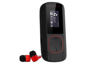 Reproductor de MP3 Energy Sistem, Radio FM y Grabador de Voz. 8GB. Color Negro, Bluetoth