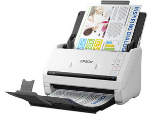 Escáner Epson WorkForce DS-530 con alimentador de documentos, 30bits, 600 x 600 dpi, USB.