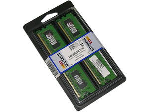 Memoria Kingston ValueRAM 512MB (2 x 256MB) DDR2 SDRAM (533Mhz - PC2-4200) Dual Channel, Kit con dos piezas de 256MB.