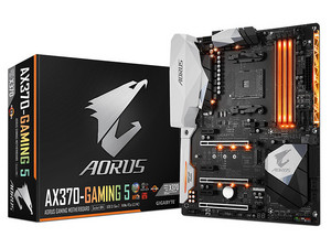 T. Madre Gigabyte AORUS AX370-GAMING 5, ChipSet AMD X370, 
