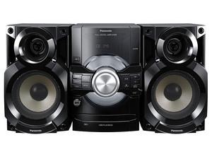 Mini Componente Panasonic, CD, MP3, Radio, Grabación y Reproducción directa de USB, 350W RMS.
