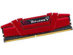 Memoria G.SKILL Ripjaws V DDR4 PC4-22400 (2800 MHz), CL15, 16 GB.