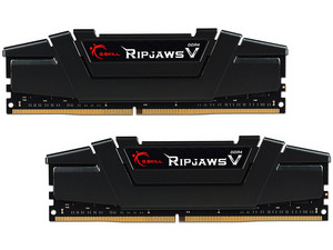 Memoria G.Skill Ripjaws V DDR4 PC4-25600 (3200MHz), CL16, 16GB (2 x 8GB), Kit con dos piezas de 8GB.