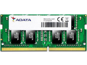 Memoria ADATA SO-DIMM Series DDR4, PC4-19200 (2400MHz) de 4 GB.