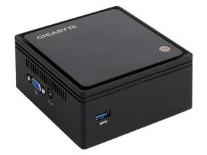 """Mini Computadora Gigabyte BRIX BXBT-1900, Procesador Intel Celeron J1900 (hasta 2.42 GHz), Soporta hasta 8 GB SO-DIMM DDR3L, Soporta D.D. de 2.5\"""" (7mm) SATA 2.0 Red 802.11b/g/n, Bluetooth 4.0, S.O. compatible Windows 8.1 (No Incluido)"""